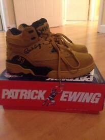 Patrick Ewing retro trainers Size: 8