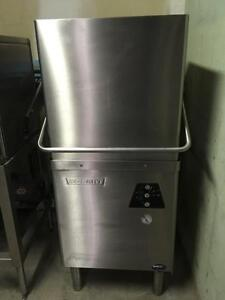 HOBART HIGH TEMP DISWASHER WITH DISH TABLE