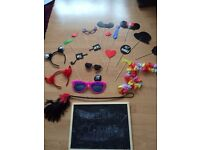 Photo booth props ideal for party or wedding decoration idea