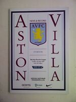 Aston-Villa-v-Everton-Barclays-Premier-League-2008-09-Programme