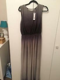 Grey&Black ombré cocktail dress