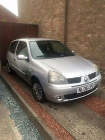 Renault Silver Clio 1.2 Extreme 16V