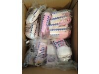 HUGE JOB LOT 149 PAIRS PEX BABY/TODDLER TIGHTS - NB to 18/24m - ALL NEW