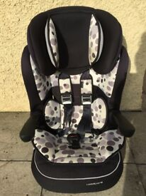 Kiddicare Black Orbit Car Seat Group 1/2/3