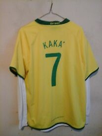 Brazil shirt, no 7, kaka