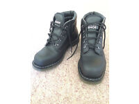 Size 8 UK- Vegan DMs Airseal Safety Boot MK2 Unisex vegetarian non-leather boots