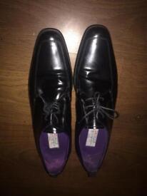 Mens next italia signature leather shoes
