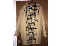 MENS BURBERRY DUFFLE COAT
