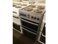 BEKO GREY/SILVER ELECTRIC COOKER WITH GUARANTEE 🇬🇧🇬🇧🌎🌎🇬🇧🇬🇧
