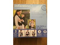 Infantino flip front to back baby carrier