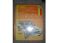 Car workshop manual. Ford Cortina Mark IV. Rescued from a library sale. Book is complete. Can post.