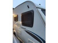 Sterling Europa 2009 , 470 4 berth caravan with motormover