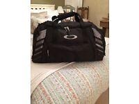 Oakley black sports/travel/gym bag - BRAND NEW!