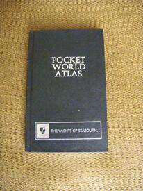 Pocket World Atlas - like new