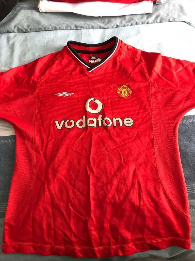 on sale 84954 0c1b3 Manchester United home kit 2000-2002   in Port Talbot, Neath Port Talbot    Gumtree