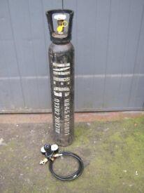 Full bottle CO2 Gas with NEW Regulator & New Reducer