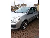 Renault Clio 1.5dci Expression -2006 - 3 Door - Silver - Low mileage - Cheap Tax (£30 per Year).