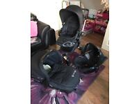 Concord Neo Travel System + accessories