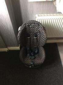 Stage 1and 2 car seat