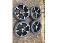 Genuine BMW BBS M Sport twist alloys with tyres