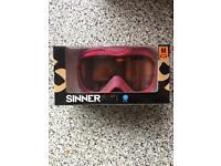 Ski Google's (SINNER)