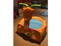 ELC giraffe trampoline with sounds