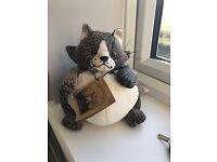 CAT - DOOR STOP - DORAMOUSE CAT DOOR STOP - EXCELLENT CONDITION - BOUGHT FOR £25 SELLING FOR £10