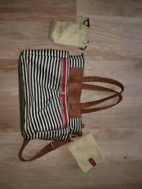Babymel changing bag with bottle bag and mat