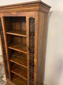 Zander wood book shelf