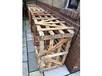 HARDWOOD CRATES FOR SALE I HAVE 10 AVAILABLE AT £20 EACH