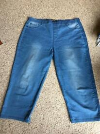 Size 18 3/4 jeggings