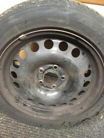 Steel wheel 5x115