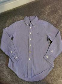 Ralph Lauren X2 boys collar shirts size 8 & size 10-12