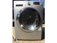 Washer dryer in silver by LG 8kg wash 4kg dryer good working order surplus to requirements £80 ovno.