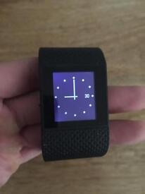 Fitbit surge black - large