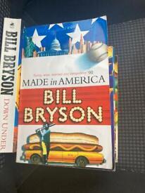 Bill Bryson Travel Books