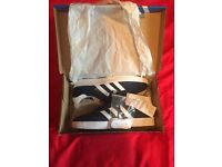 Men's Adidas Gazelles size 8 and Ellesse Jacket