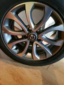 Nissan juke alloy wheel