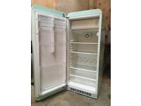 Smeg fridge for sale. Gleaming condition, hardly used. H 1460 W 600. D 7200mm
