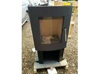 Woodburning wood burning stove 9kw