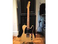 Fender 'Baja' Classic Player 50's Telecaster Guitar - 2010 - Blonde - Ex Condition
