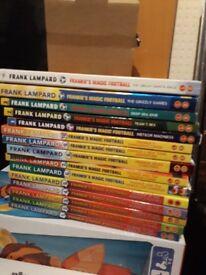 Frank Lampard Frankie's magic football books, 15 books