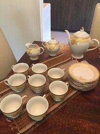 Brand new Tea Set - Fine Procelain - 8 persons (YAMASEN JAPAN)