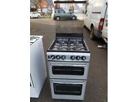 STOVES 500SIDL 50cm FULL GAS COOKER SILVER