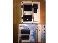2 Belkin Surf Powerline Networking Adapters 200Mbps