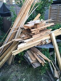 Free mixed wood for collection in catford