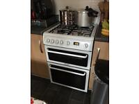 Hotpoint double oven gas