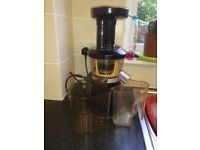 Hurom HU 400 Pro Worlds Fastest Cold Press Juicer Boxed Very Good Condition RRP£300