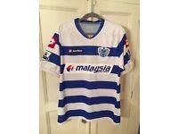 Men's QPR Authentic Football Shirt Size Large.