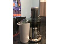 Sage By Heston Blumenthal The Nutri Juicer BJE410UK Centrifugal Juicer - Chrome.